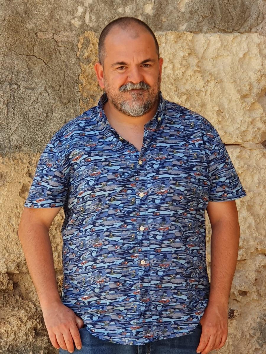 Manel Serrano, primer autor residente del Tub