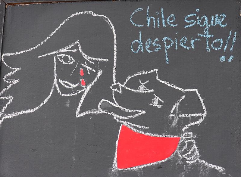 Diarios de Chile: el viento de protesta también sopla por el teatro